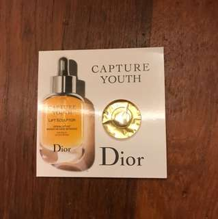 Dior Capture Youth Life Sculptor Age-delay lifting serum sample