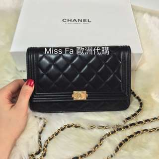 Chanel WOC Black (Wallet on Chain)