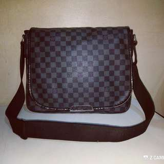 Messenger Bag Damier Graphite GM Louis Vuitton Daniel
