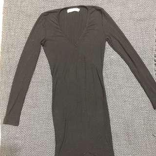 歐美 貼身洋裝