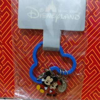 迪士尼Disney Micky Minnie 鎖匙扣