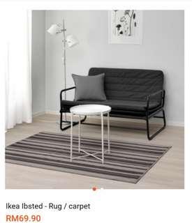 Ikea ibsted- carpet / rugs