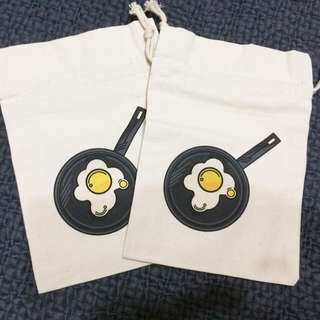 煎蛋🍳 束口袋