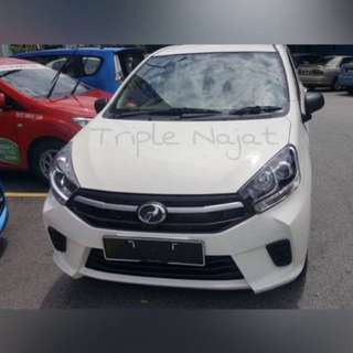 Car rental Perodua Axia
