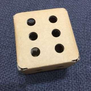 骰子 紙盒