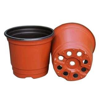 Flower pots/small plastic plant pots/hydroponic plant pots