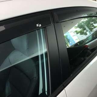 K3 door visors