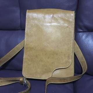 真皮手製A4 size 袋