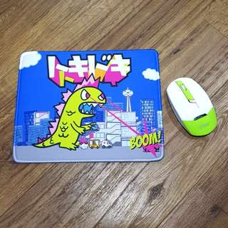 Inspired Kaiju Non- Slip Mouse Pad