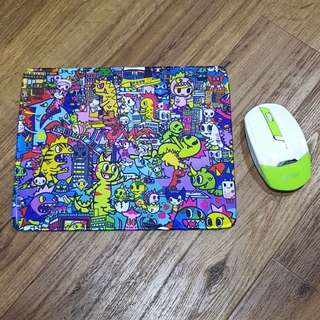 Inspired Kaiju City V3 Non- Slip Mouse Pad