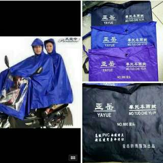 motorcycle Raincoat single