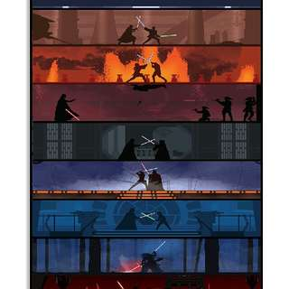 Limited Edition Printed Poster Starwars