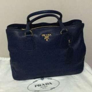 PARDA 寶石藍色手袋