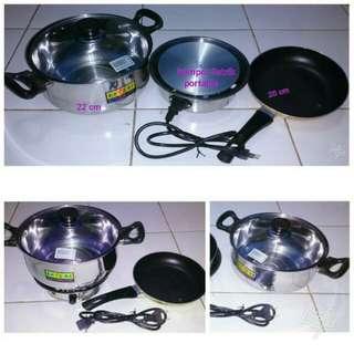 Set alat masak portable