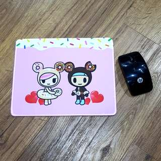 Inspired Donut Couple Non- Slip Mouse Pad