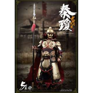 PRE-ORDER : 303 Toys MP002 - Masterpiece Series - 1/6 Qin Qiong (Shubao): The Guarding General (Exclusive Edition)