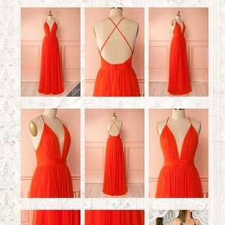 ✨Gorgeous Coral Dress✨