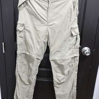 Oursky convertible trekking and hiking pants
