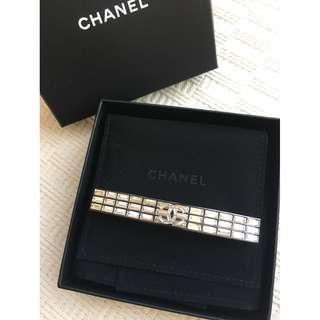 Chanel hair clip with Swarovski crystal