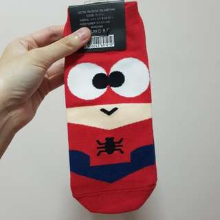 Korean Socks Spiderman