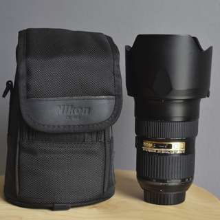 Nikon Lens 24-70G with box full set