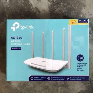 TP Link AC1350 Wireless Dual Band Router (archer C60)