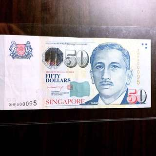 LHL 🐲000095🐉MAS🌟fifty dollar