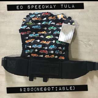 Tula Baby Carrier ED SPEEDWAY WITH FREE GIFTS