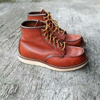 BOOT REDWING TAMPAN Seri E 8131 Good condition!