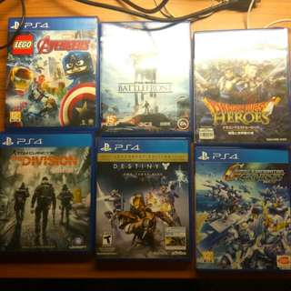 Ps4 Games (6 games)