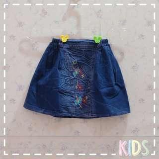 👖Jeans Bordir Skirt