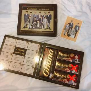 [WTS] Wanna One Ghana Chocolate