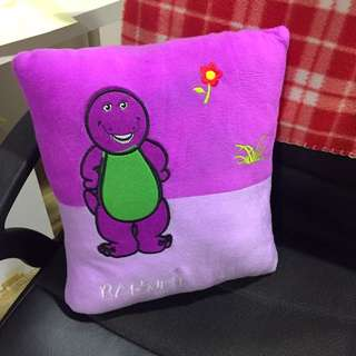 Mini Barney Pillow