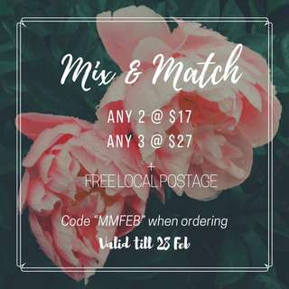 Mix & Match ' FEB