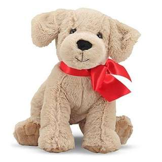 Melissa & Doug Yellow Lab Puppy Stuffed Toy