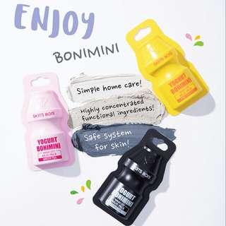 Skin Bonimini washoff mud pack