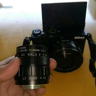 Nikon 1 J5 2 Lensa