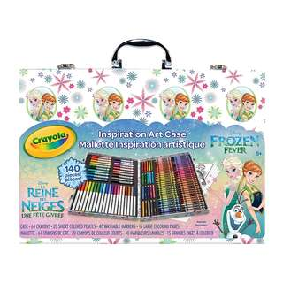 SALE! BRAND NEW Crayola Frozen Inspiration Art Case, 140 Pieces, Art Set, Gifts for Kids and Adults