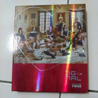 [READY STOCK] TWICE SIGNAL RED VERSION ALBUM (NAYEON CD)