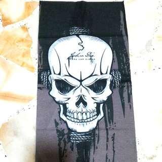 Brand New Assorted Bandanna bandana head socks designs Skull harley CNY B (4pcs) set Skull version Set Free local Mail~