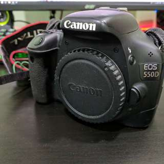 Canon 550D + Battery Grip