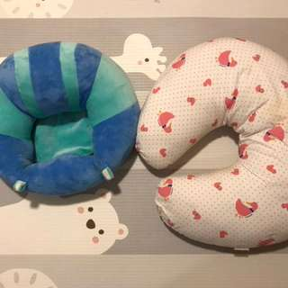 Nursing pillow + baby seat cushion