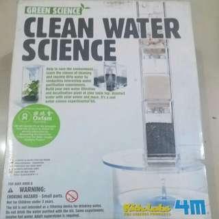 Twister&clean water science
