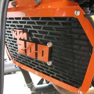 KTM 200/390 Radiator Guard