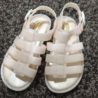 Mini Melissa inspired sandal