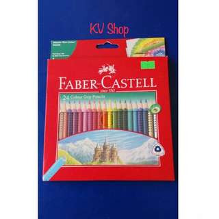 Pensil Warna Faber-Castell 24 Warna