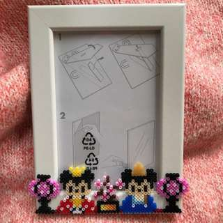 Disney Mickey Minnie 3R bead frame