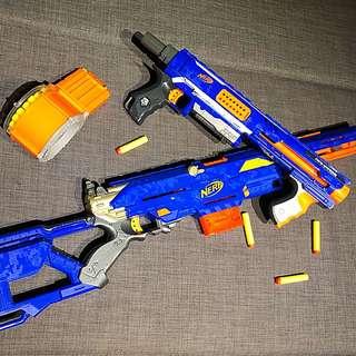 Nerf Rampage + Longshot
