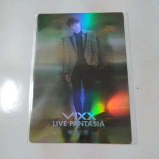 [READY STOCK] VIXX KEN LIVE FANTASIA DAYDREAM CONCERT MERCH (HOLOGRAM POSTCARD)