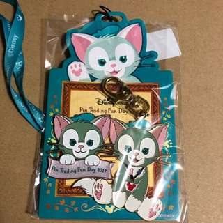 迪士尼 徽章 DISNEY PIN PIN TRADING FUN DAY 2017  邀請卡